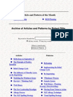(eBook - NLP) - Robert Dilts - Articles and Patterns