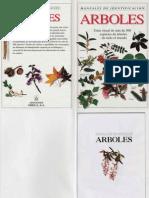 Botanica - Arboricultura - Libro Guia - Manuales de Identificacion - Arboles (Omega)