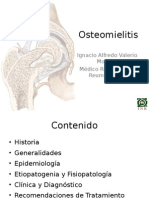 Clase Osteomielitis
