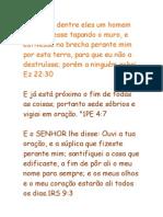 Versículos Casa de Oração.doc