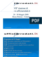 Uffici Arredati Riunione Catania 29 05 2009