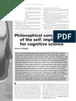 Neuro Philosophy of Self