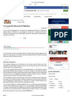 No Room for Dissent in Pakistan