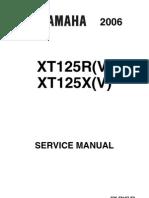 Yamaha xt 125 service manual