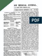 Association Medical Journal. No. LXXXVII.  September 1, 1854,