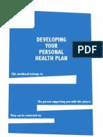 Personal Health Work Book