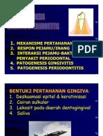 Patogenesis Gingivitis Periodontitis