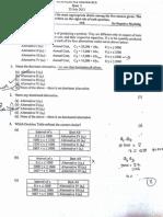 Maths Quiz Paper