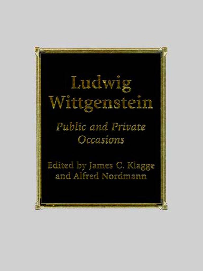 0742512703 0 | Ludwig Wittgenstein | Epistemology