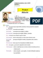 Proiect Didactic Limba Si Literatura Romana