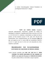 MANDADO DE SEGURANÇA TUFFI