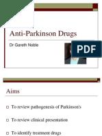 Anti Parkinson Drugs