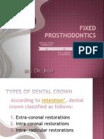 Fixed Prosthodontics_lesson 2