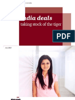 India Deals Taking Stocks of the Tiger