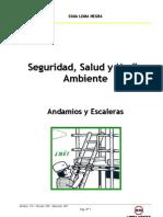 Manual de Seguridad - Andamios y Escaleras
