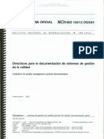 ISO 10013 OF2003