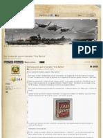 """Dos tanques de guerra llamados """"Fray Bentos"""""""