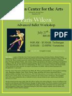 HCA Wilcox Workshop 2009