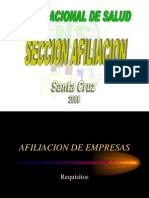 AFILIACION.ppt