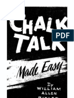 Chalk Talk Made