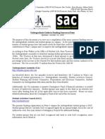 UA SAC Undergraduate Funding Sources Guide