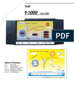 Zephyr RM 1000 Manual