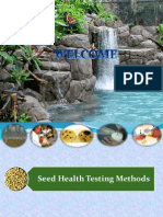 Seed Health Testing in Field Crops Seeds...........Aaaaaaa