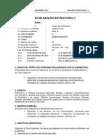 3)Silabo Analisis II