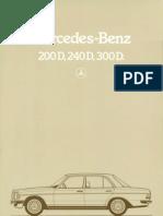 Brochure4001 Mercedes Benz 200 Serie 1983 12(2)
