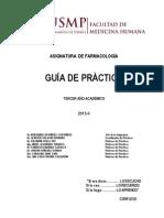 Guia de Farmacologia 2013-II