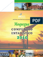 Compendio estadistico Moquegua 2010