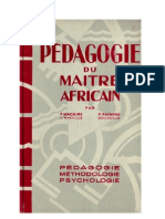 Macaire-Raymond Pédagogie du Maitre Africain Presses Missionnaires 1956