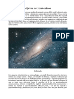 Distancias a objetos astronómicos