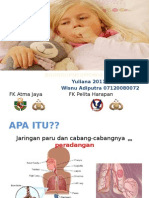 penyuluhan bronkopneumonia pada anak