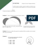 Polygones-Cercles &Triangles Isométriques