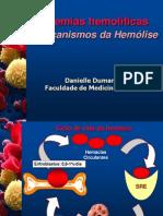 anemias hemolíticas e mecanismo de hemólise - danielle dumaresq 01.02