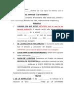 Revocatoria Diario de CA