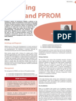 Managing PROM and PPROM - Emma Parry