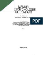 Manuel de Psychologie de l Enfant