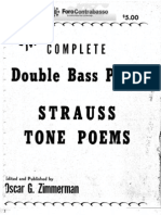 Oscar Zimmerman - The Complete Double Bass Parts Strauss Tone Poems