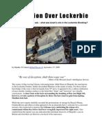 Deception Over Lockerbie - Israel's Hidden Role in the Attack