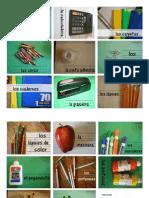 Printable Back to School Flashcards