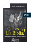 Edesio Sánchez Cetina Que es la Biblia (2)