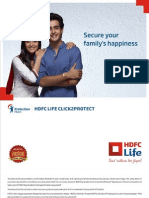 Hdfc Life Click 2 Protect Plan Brochure