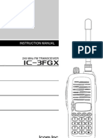 IC 3FGX Instruction Manual