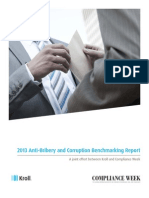 2013 Anti-Bribery and Corruption Benchmarking Report
