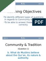 2.Community & Tradition