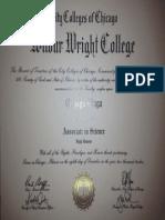 Associate in Science Diploma