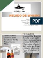 Helado de Whiski