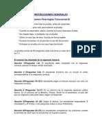 INSTRUCCIONES INGLÉS TRANSVERSAL 3